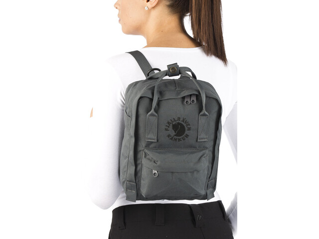 Fjällräven Re Kånken Mini Backpack Grey At Addnaturecouk